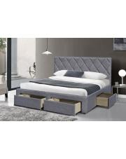 Dwuosobowe łóżko z szufladami Beti 160x200 cm