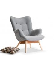 Fotel wypoczynkowy szary  w sklepie Dedekor.pl