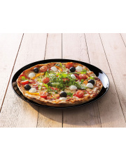 Talerz Pizza Friends Time czarny 32 cm LUMINARC