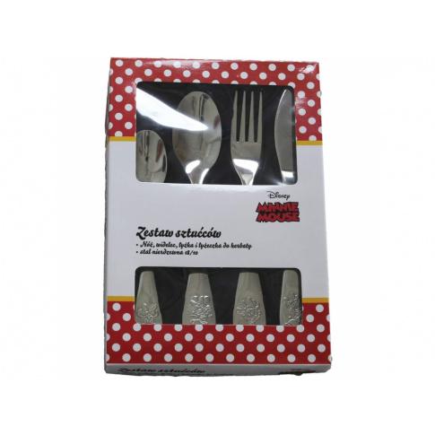 Komplet 4 sztućców dla dzieci Minnie Magic DISNEY w sklepie Dedekor.pl