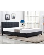 Tapicerowane łóżko OXFORD z pikowanym zagłówkiem