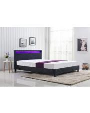 Dwuosobowe łóżko ARDA tapicerowane tkaniną