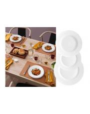 Serwis obiadowy 19-el Biały TOLEDO BORMIOLI