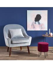 Wypoczynkowy fotel OPALE z poduszką i podłokietnikami