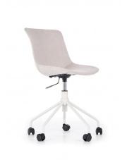 Eleganckie tapicerowane krzesło obrotowe w sklepie Dedekor.pl