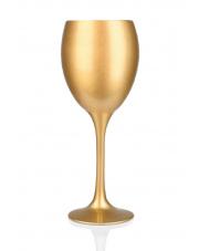 Złoty kieliszek do wina 300 ml w sklepie Dedekor.pl