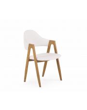 Krzesło kuchenne białe Elas w sklepie Dedekor.pl
