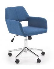 Fotel obrotowy niebieski Morel