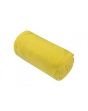 Żółty koc z polaru Basic 130x150  w sklepie Dedekor.pl