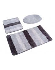 Ombre gustowne dywaniki łazienkowe 2 części szary w sklepie Dedekor.pl
