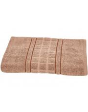 Ręczniki Bawełniane Felis Brązowy 70x140 w sklepie Dedekor.pl