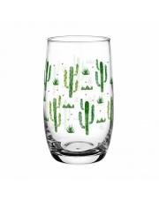 Szklanka Wysoka 320ml Kaktusy  w sklepie Dedekor.pl