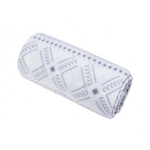 Skandynawski koc polarowy wzór 130x150 w sklepie Dedekor.pl