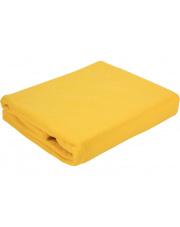 Koc z polaru Milutek żółty 150x200 cm