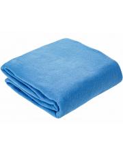 Koc z polaru Milutek Chabrowy niebieski 170x130
