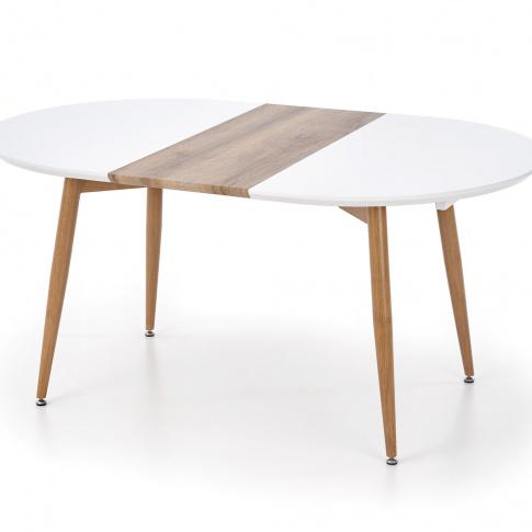 Stół rozkładany miodowy dąb OUTLET w sklepie Dedekor.pl