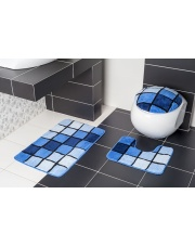 Dywaniki łazienkowe BORNEO N81 dywanik + nakładka w sklepie Dedekor.pl