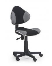 Krzesło na kółkach FLASH czarny