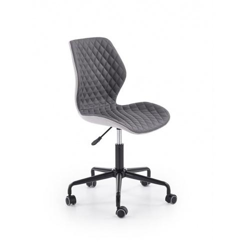 Obrotowy fotel do biura gabinetu pikowany UBEX w sklepie Dedekor.pl