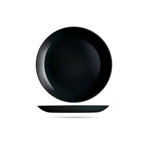 Talerz deserowy 19 cm czarny DIWALI LUMINARC w sklepie Dedekor.pl