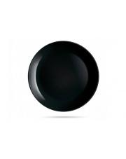 Talerz obiadowy 25 cm czarny DIWALI LUMINARC