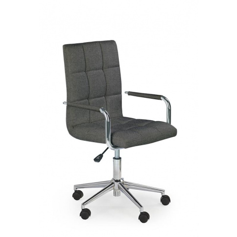 Krzesło obrotowe fotel gabinetowy GONZO tapicerka w sklepie Dedekor.pl