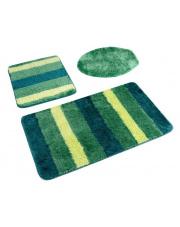 Ombre gustowne dywaniki łazienkowe 2 części zielone w sklepie Dedekor.pl