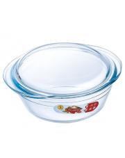 Naczynie żaroodporne okrągłe z pokrywką 2,1 l OCUISINE w sklepie Dedekor.pl
