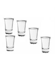 Komplet 5 kieliszków do wódki Torino 40ml OUTLET w sklepie Dedekor.pl