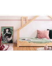 Drewniane łóżko dziecięce domek