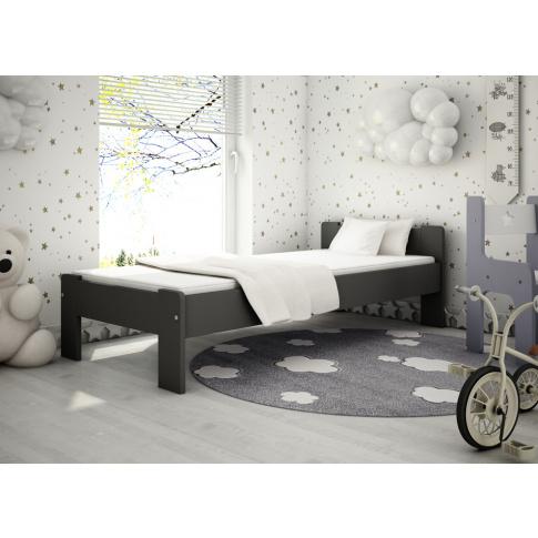 Drewniane łóżko Zeno 90x200  w sklepie Dedekor.pl
