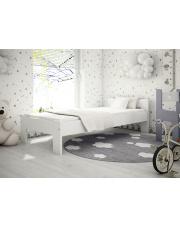 Drewniane łóżko Zeno 90x200 Białe w sklepie Dedekor.pl