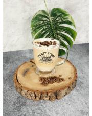 Szklany kubek Hubas 400 ML Time For Coffee w sklepie Dedekor.pl