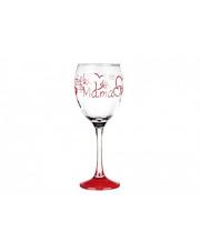 Kieliszek do wina 300 ml Dzień Kobiet