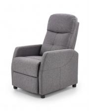 Rozkładany fotel wypoczynkowy tkanina w sklepie Dedekor.pl