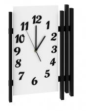 Biały zegar Primo