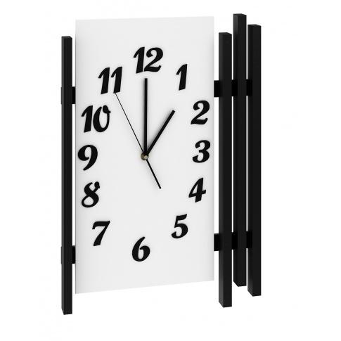 Biały zegar Primo  w sklepie Dedekor.pl