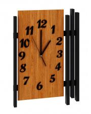 Drewniany zegar dąb PRIMO