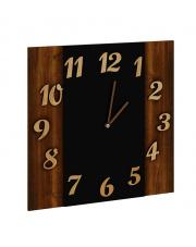 Zegar ścienny 35x35cm dąb