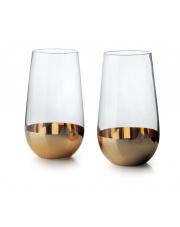 Kpl szklanek gold 560 ml