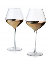 Kieliszki do wina gold 630 ml