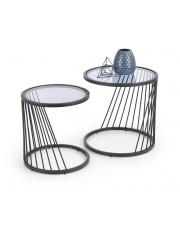 Zestaw dwóch nowoczesnych stolików  w sklepie Dedekor.pl