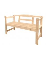 Drewniana ławka ogrodowa w sklepie Dedekor.pl