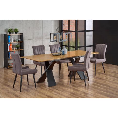 Stół Rozkładany CHANDLER Dąb Loft w sklepie Dedekor.pl