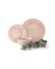 Komplet obiadowy Porcelit rosa 18cz. w sklepie Dedekor.pl