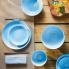 Komplet obiadowy Diwali Light Blue 18 el w sklepie Dedekor.pl