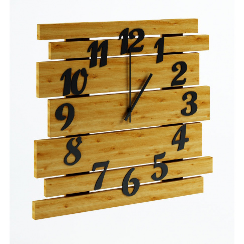 Zegar ścienny max dąb  w sklepie Dedekor.pl