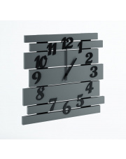 Nowoczesny zegar szary