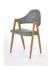 Krzesło kuchenne popiel Elas w sklepie Dedekor.pl