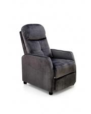Rozkładany fotel wypoczynkowy ciemna zieleń